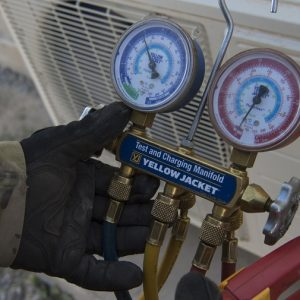 Expeditionary HVAC technicians battle the heat; distribute the cool