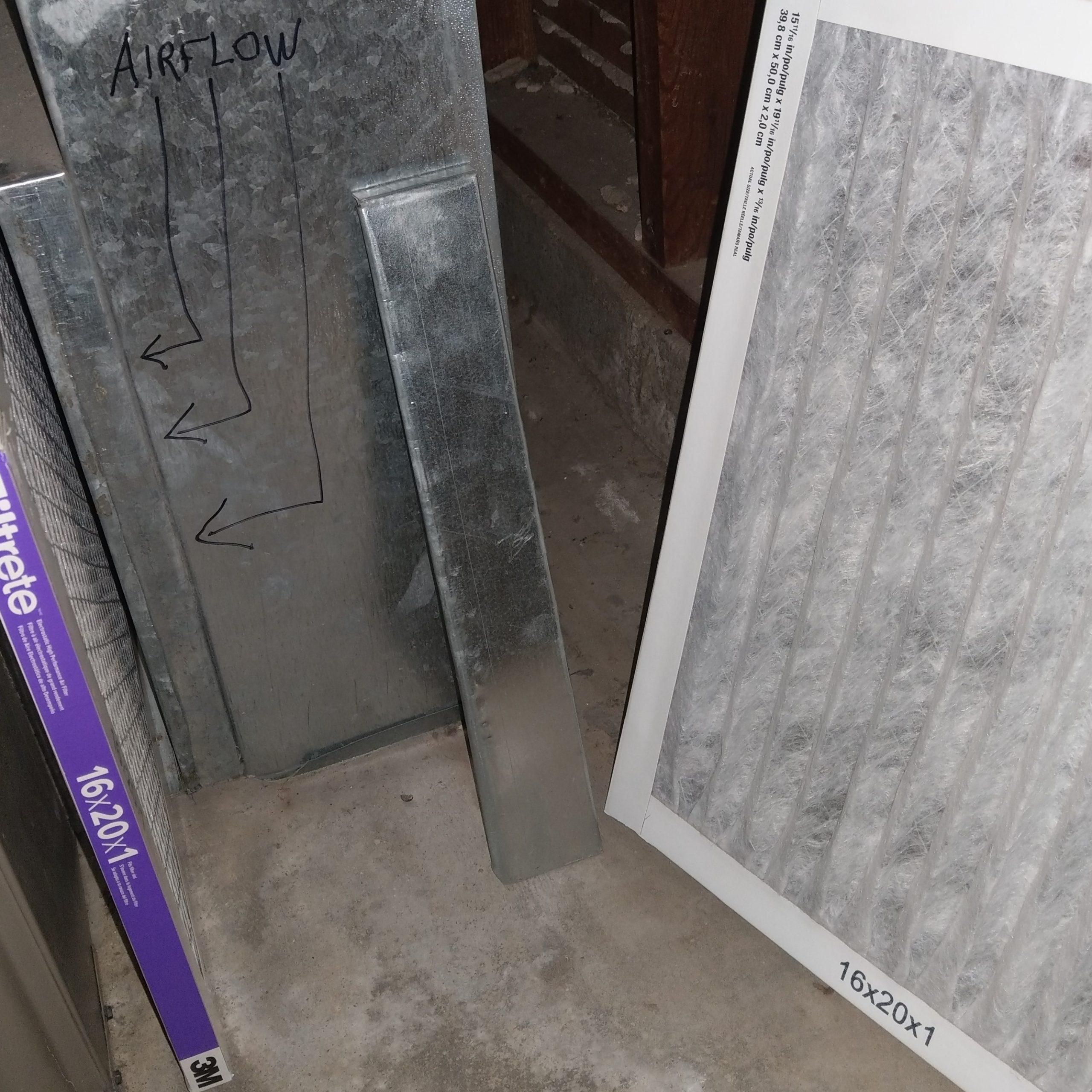 HVAC Filter Change